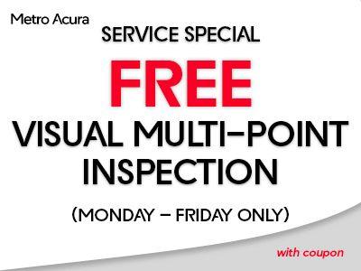Service Parts Coupons Metro Acura - Acura coupons